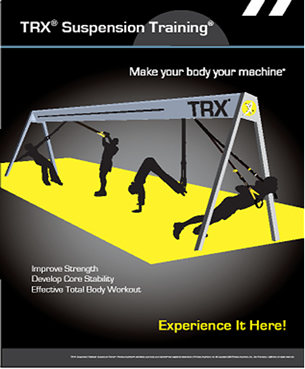 TRX System at All About You Exercise and Weight Management